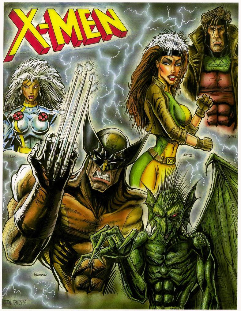 X-Men - character collage by Ricardofantasyart