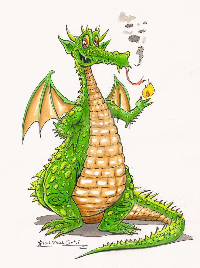 stuff cute dragon by ricardofantasyart on deviantart
