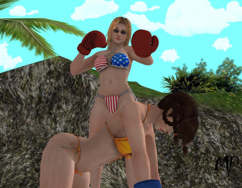 DOA Beach Boxing by Mr-MP