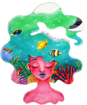 Sharpie Sea by CreativeCarrah