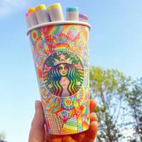 Rainbow Cup Art (2)