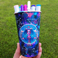 Zodiac Constellations Cup Art