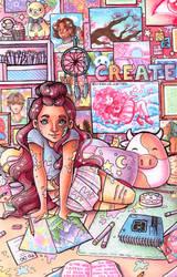 Pastel Art Room
