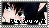 Neko Sasuke by suigrell
