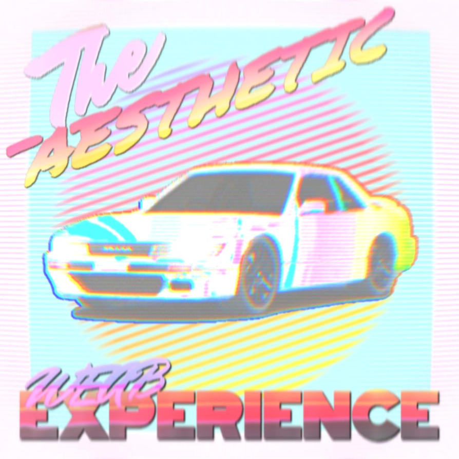 My new vaporwave album cover by THEAESTHETICWEEB