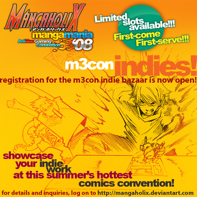 M3con Indies Poster