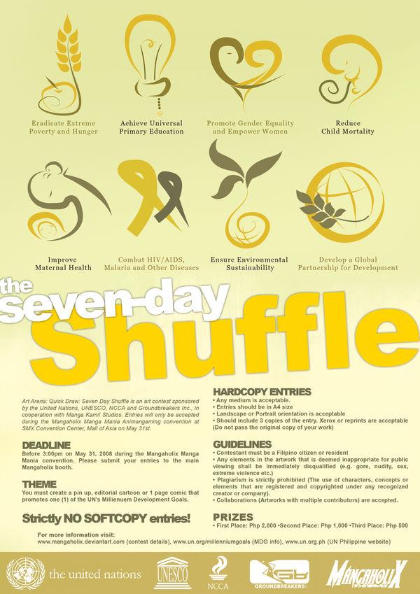 Art Contest- Seven-Day Shuffle