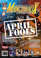 Mangaholix Issue 8 Spoof by mangaholix