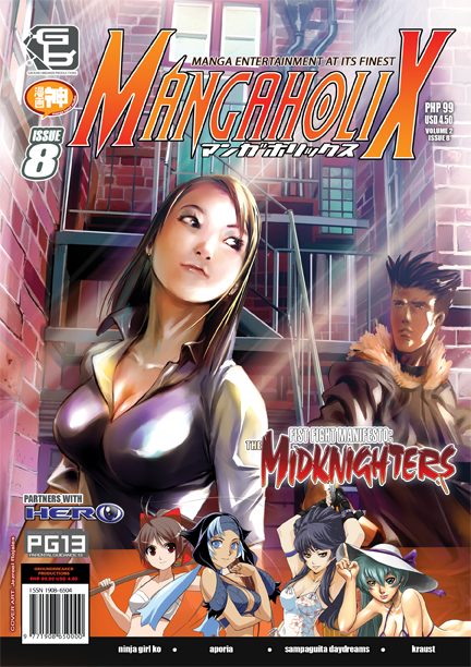 Mangaholix Issue 8 by mangaholix