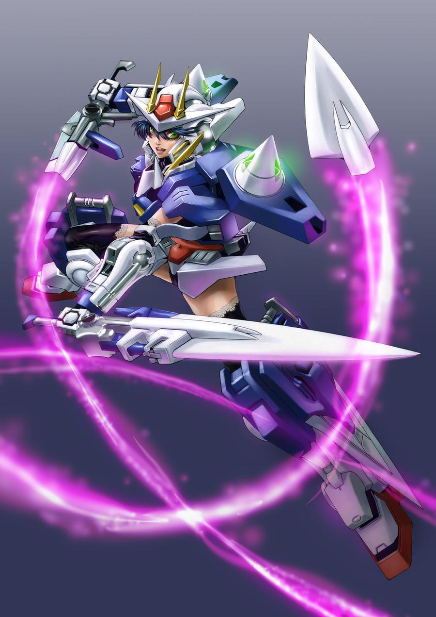 Gundam Cutey by mangaholix
