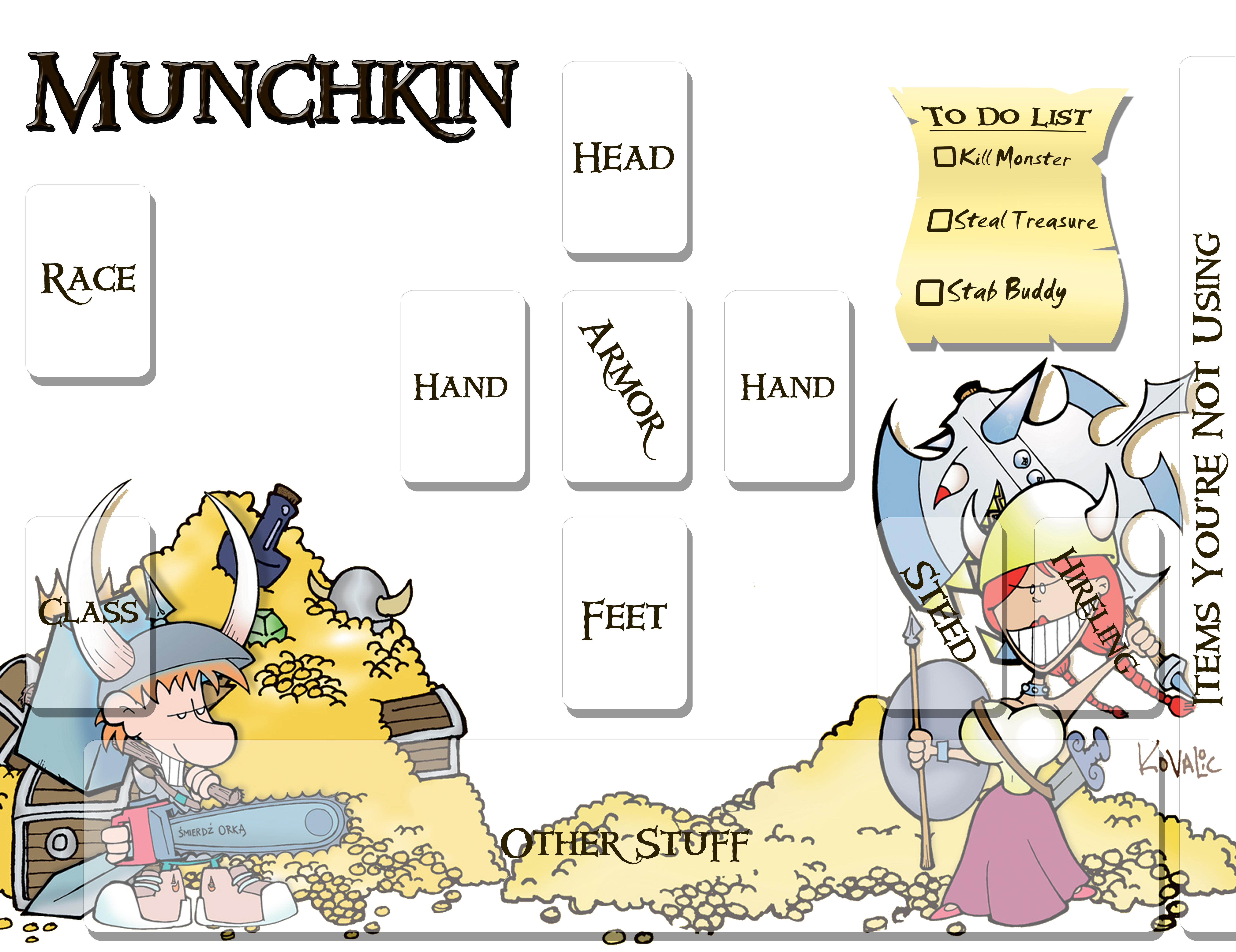 how to play munchkin for dummies