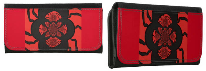 The Sun Spyder Woman Wallet 1