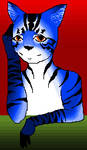 MS paint Bluetabbycat