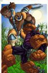 Dinobot vs Megatron coloured