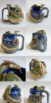 Dragon Mug  finished