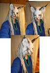 Lynx kitty mask
