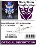 Decepticon ID Airhammer