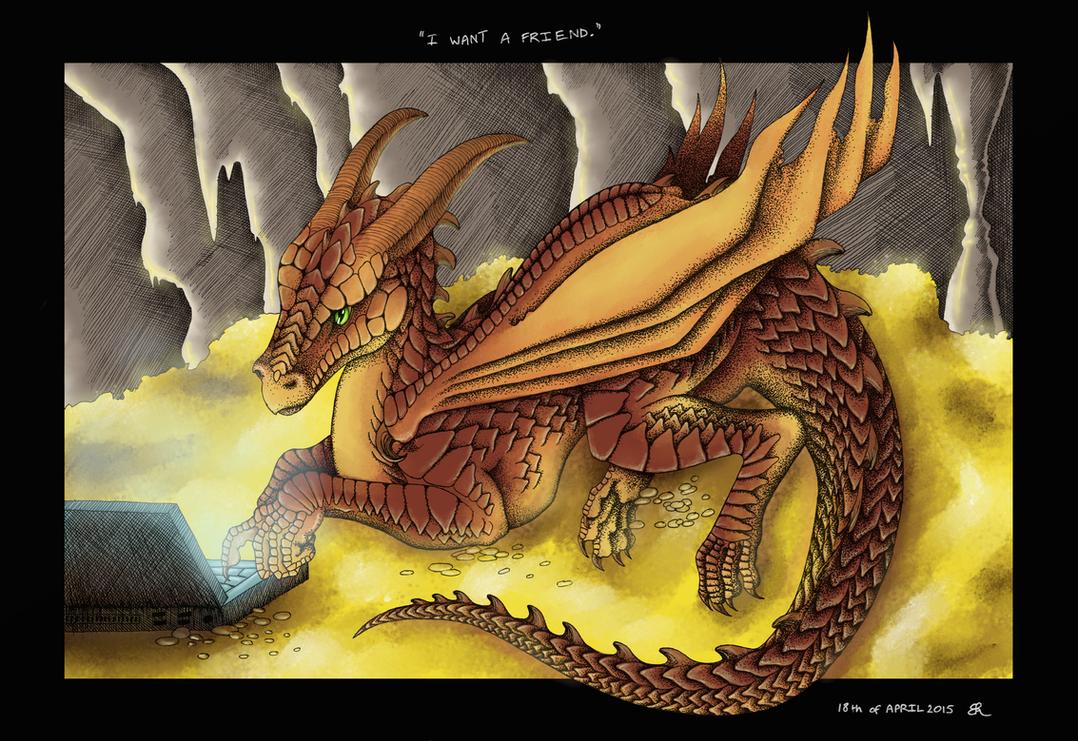 Darla the dragon by Bluetabbycat