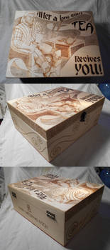 Geralt Tea Box
