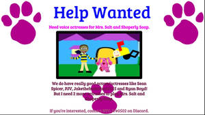 Help Wanted!