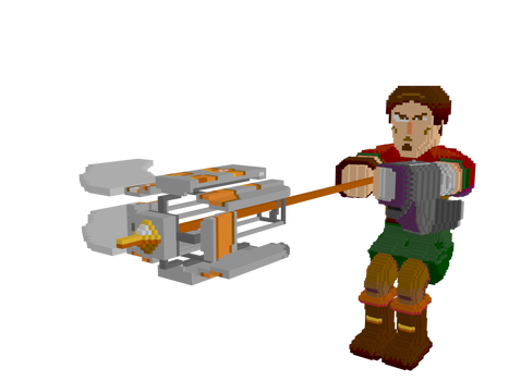 Whirlwind of death - Voxel Blade