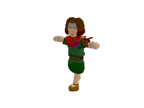 Young Egon! - Voxel Blade
