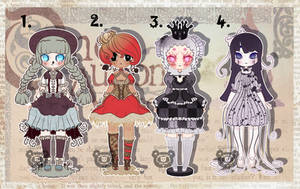 [Adopts] Undead Fairytales [CLOSED] by ShatteredSightAdopts