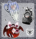 Mystery Gothic Bags | CLOSED by SpookstressAdopts