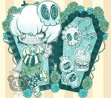 Pastel Goth Bag | Skull Boy