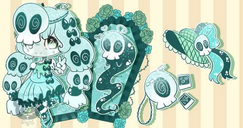 Pastel Goth Bag | Skull Girl