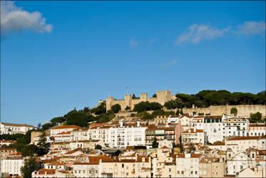 Castelo de S.Jorge by catarinamzfernandes