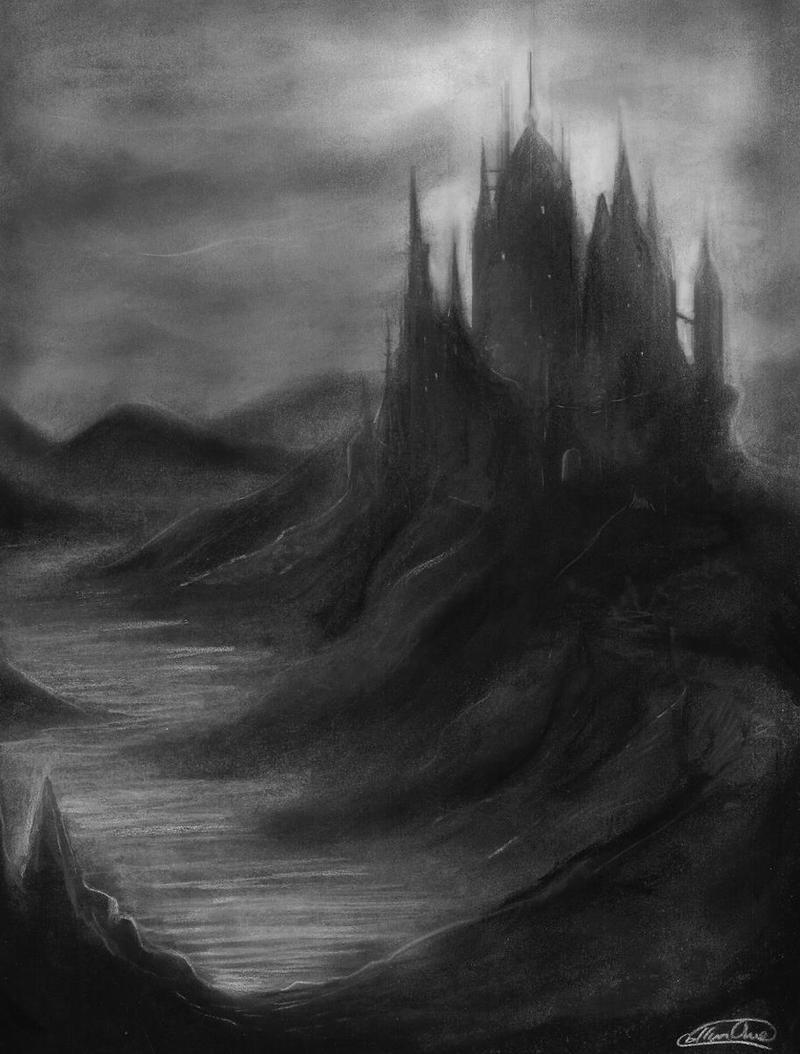 Http Felt Heart Deviantart Com Art Black Castle 432482709