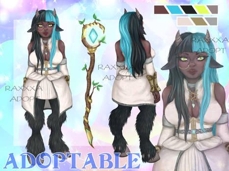 [OPEN] ADOPT Magician satyr girl