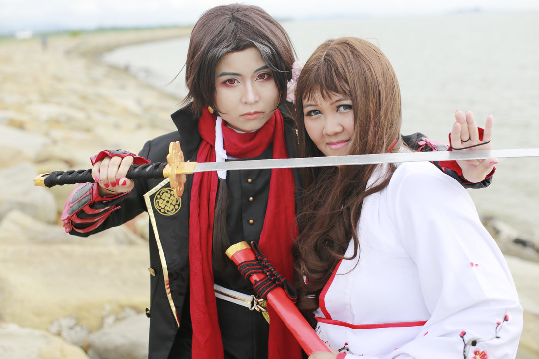 Kashuu x Saniwa - I Will Protect You A10 by Makoto17