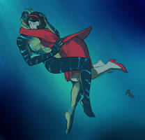 Squiggles : Shape of Water by Playmordial