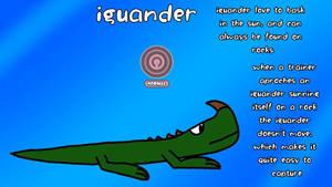 the iguana salamander pokemon