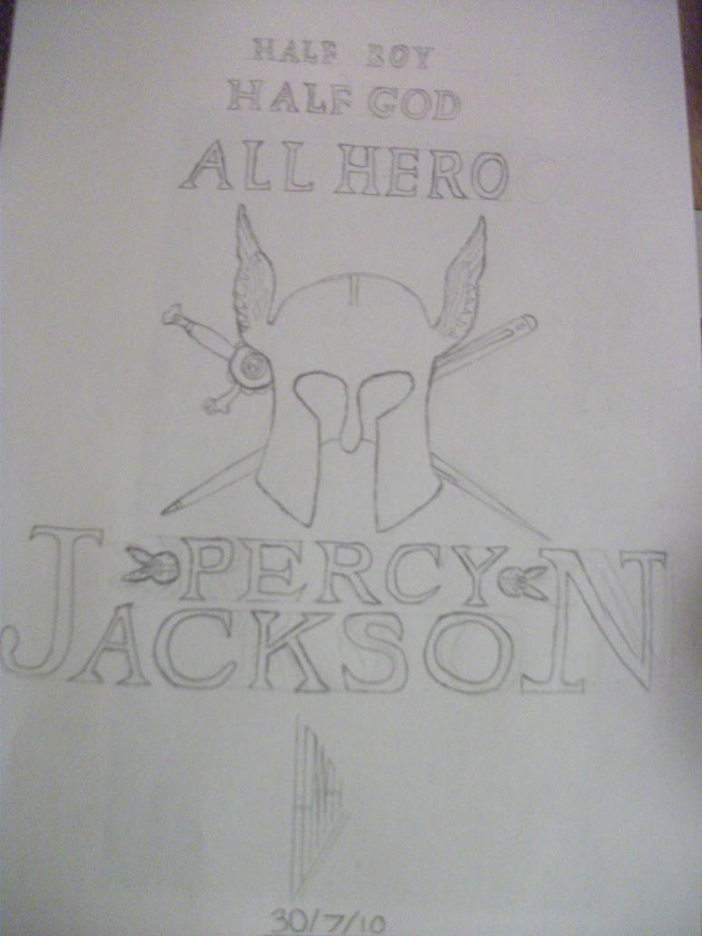 Percy Jackson Book Cover Art : Percy jackson book cover by siousixie on deviantart