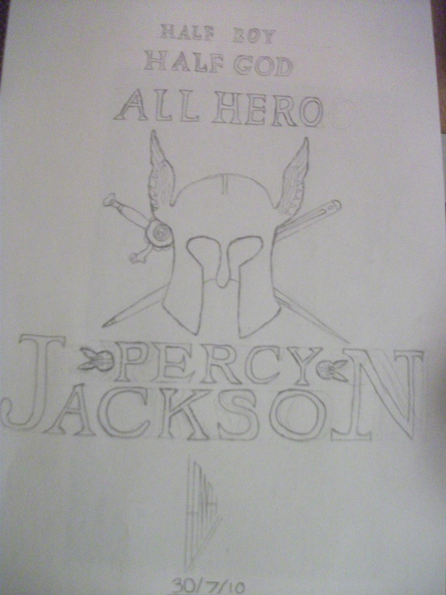 Book Cover Drawing Uk : Percy jackson book cover by siousixie on deviantart