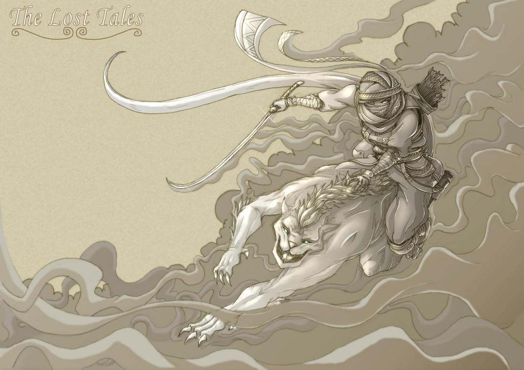 The Warrior - Alt. Version by Hunter-Wolf