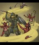 The Nomad - Diablo 3 fan class by Hunter-Wolf