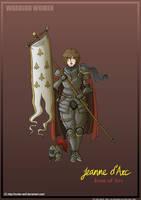 Warrior Women: Joan of Arc by Hunter-Wolf