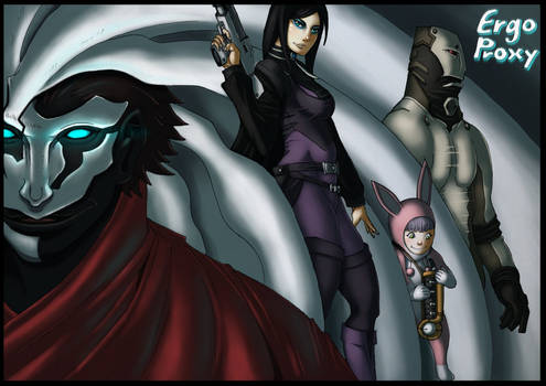 Ergo Proxy - What's your reason detere