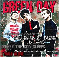 Green Day_Boulevar by punkydark