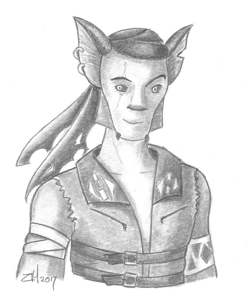 Zygerrian pirate by Fayola