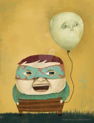 Nukki and his sad balloon