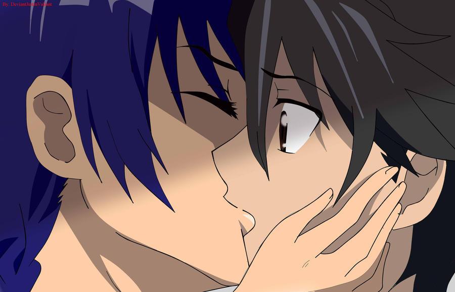 Takashi And Saeko Kiss