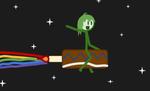 Nyan Space Cake