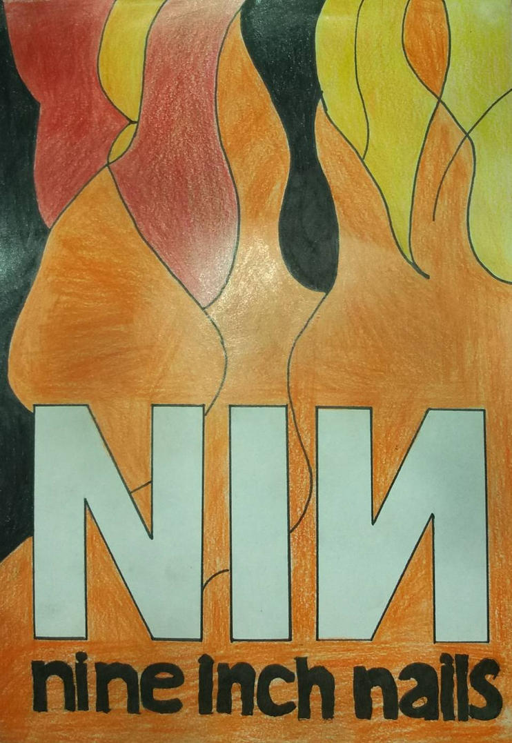 The Simpsons\' Nine Inch Nails Poster. by SpooksNMuses on DeviantArt
