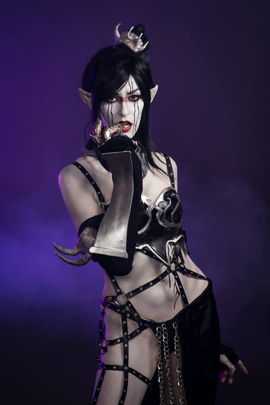 Dark Eldar Cosplay by UrbanBallerinaEsq