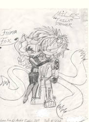 Young Couple: Tails and Fiona